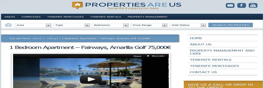 Properties are us screen 3