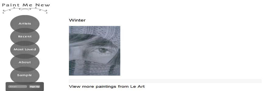 paintmenew artist painting preview page